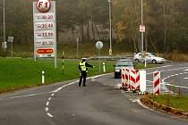 Kontrolní akce českých a německých policistů u Aše