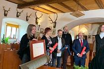 Cenu Patria Nostra získal hrad Vildštejn ve Skalné.