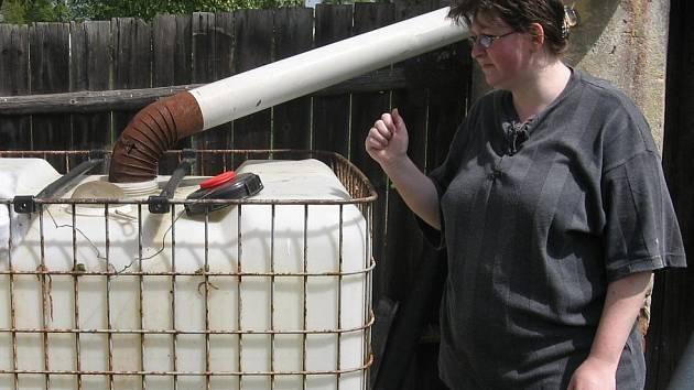 Rodina Růženy Silovské už několik let zápasí s akutním nedostatkem vody.