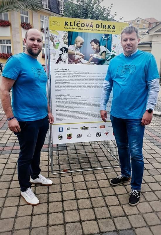 Na Chebsku se zvedla vlna solidarity, projekt Klíčová dírka pomáhá onkologicky nemocným dětem.