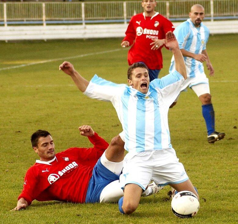 Brutální fauly ve fotbale na Chebsku