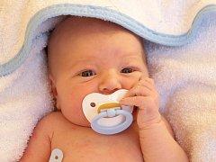 FILIP TOMŠA přišel na svět ve středu 20. listopadu v 15.36 hodin. Při narození vážil 3 670 gramů a měřil 53 centimetrů. Z malého Filípka se těší doma v Aši maminka Terezie spolu s tatínkem Milanem.