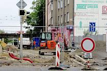 Rekonstrukce Pivovarské ulice skončí na přelomu října a listopadu.