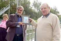 Londýnský a chebský holmesolog, jinak Guy Marriot (vlevo) a Václav Vrba (vpravo)