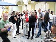 Slavnostní zahájení provozu v obnovené chebské galerii U Kamene