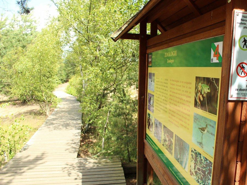 Přírodní rezervace Soos leží přibližně 6 km severovýchodním směrem od Františkových Lázní.