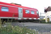I železniční přejezd v Podhoří u Chebu projde rekonstrukcí.