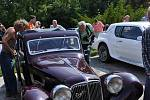 Sraz historických motorových vozidel v sobotu 4. července v Mariánských Lázních
