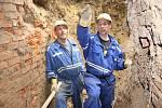 Začátek štoly v Komorní hůrce už horníci vykopali. Letos by ji měli prohloubit celou.