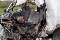 Tragická dopravní nehoda se stala na obchvatu Velké Hleďsebe.