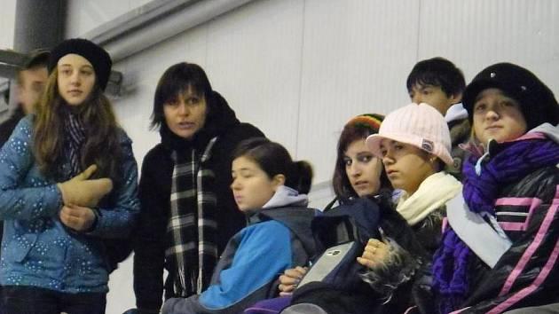 ŽANDOVSKÁ ČÁPATA (členové žákovského parlamentu) za odměnu za svou práci vyrazila do Ostrova nad Ohří, kde se zúčastnila sledge hokejového zápasu karlovarských Sharks.