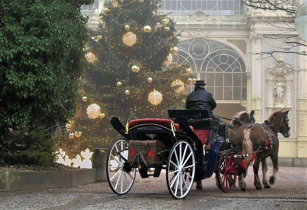 Vánoční Mariánské Lázně.