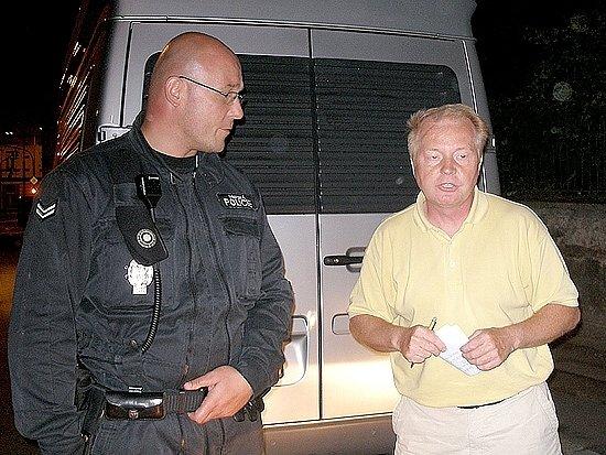 Německého řidiče nerozčílila pokuta, ale fotoaparát