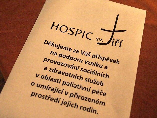 Adventní koncert pro Hospic sv. Jiří se konal v chebském kostele sv. Mikuláše.