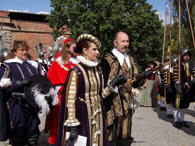 V Chebu se opět po roce konaly Valdštejnské slavnosti.