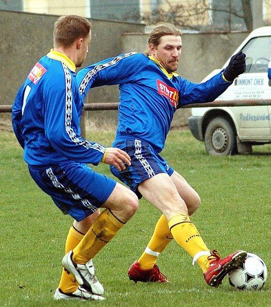 FC Cheb v duelu s Lokomotivou Karlovy Vary pouze remizoval 1:1 a je nadále vážným aspirantem na sestup