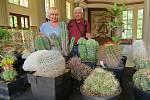 Jedinečná výstava 250 kaktusů a sukulentů byla k vidění ve Dvoraně Glauberových pramenů ve Františkových Lázních.