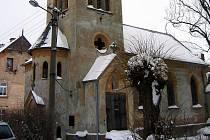 Kostel v Hazlově.