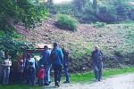 Za netopýry se vydali zájemci do zámku Kynžvart.