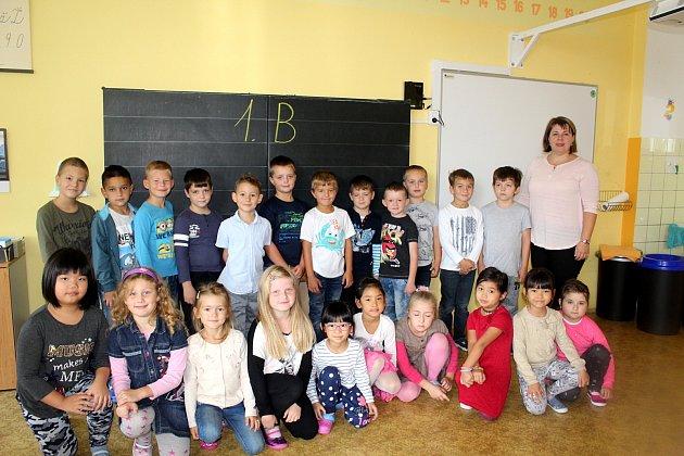 Prvňáčci 5.základní školy Cheb
