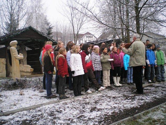 U hotelu Krakonoš se konal další adventní koncert.