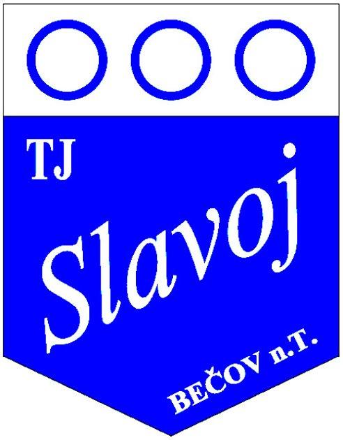 Vlajka TJ Slavoj Bečov nad Teplou