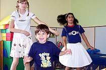 Děti v chebském stacionáři Mája