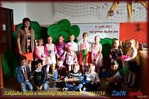 Žáci 1. třídy Základní školy Hazlov