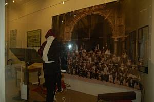 Historie orchestru je k vidění v mariánskolázeňském muzeu