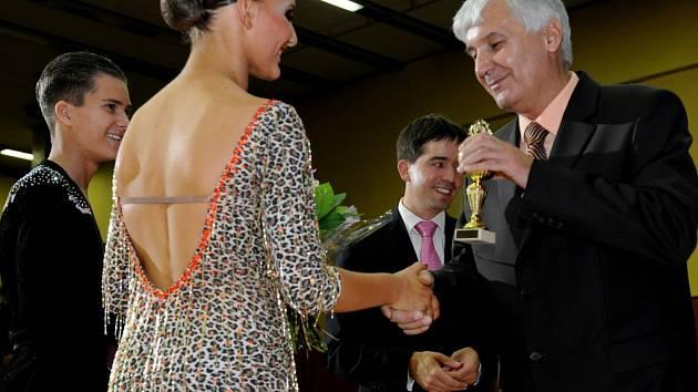 POŘÁDÁNÍ Mezinárodní taneční soutěže GRAND PRIX Cheb je pro nadšeného organizátora tanečního mistra Vladimíra Hánu akcí roku.