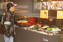 Interaktivní výstava, která mapuje vývoj elektrických zařízení od počátku minulého století do současnosti,  je od pondělí k vidění v chebském obchodním centru Dragoun.