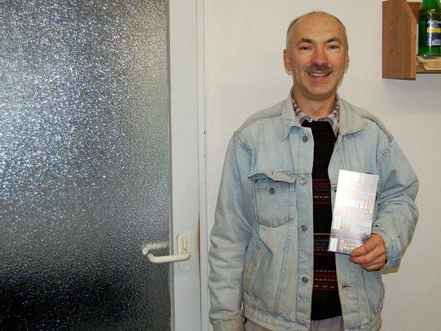 Jeden z vítězů soutěže o vstupenky na koncert skupiny Nazareth Václav Macek