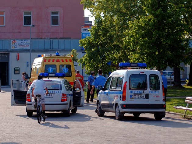 CHEBSKÉ NÁDRAŽÍ a jeho okolí je místem, kde musí chebští strážníci často zasahovat kvůli místním bezdomovcům.