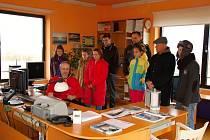 Meteorologická stanice v Chebu se o víkendu otevřela pro veřejnost.