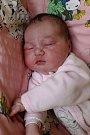 ELIŠKA FINKOVÁ se narodila ve středu 6. září v 2.46 hodin. Na svět přišla s váhou 4 040 gramů. Doma v Chebu se z malé Elišky radují sourozenci Natálka s Kubíkem, maminka Jana a tatínek Tomáš.