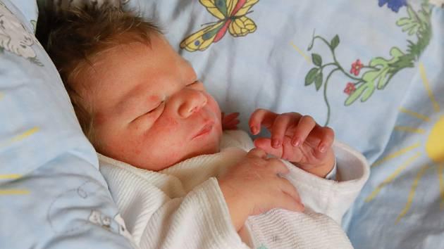 PETR KUNEŠ bude mít v rodném listě datum narození pondělí 6. ledna v 7 43 hodin. Na svět přišel s váhou 4 010 gramů. Maminka Lenka a tatínek Petr se radují z malého Petříčka doma v Aši.