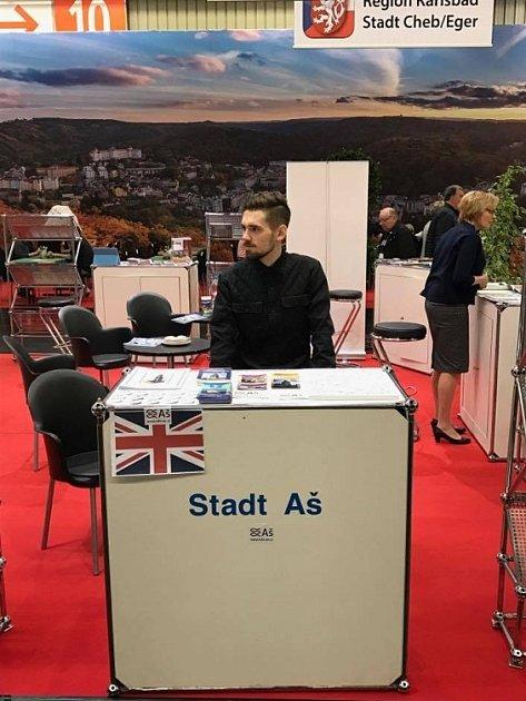 Pracovníci informačního centra prezentovali město Aš na norimberském veletrhu.