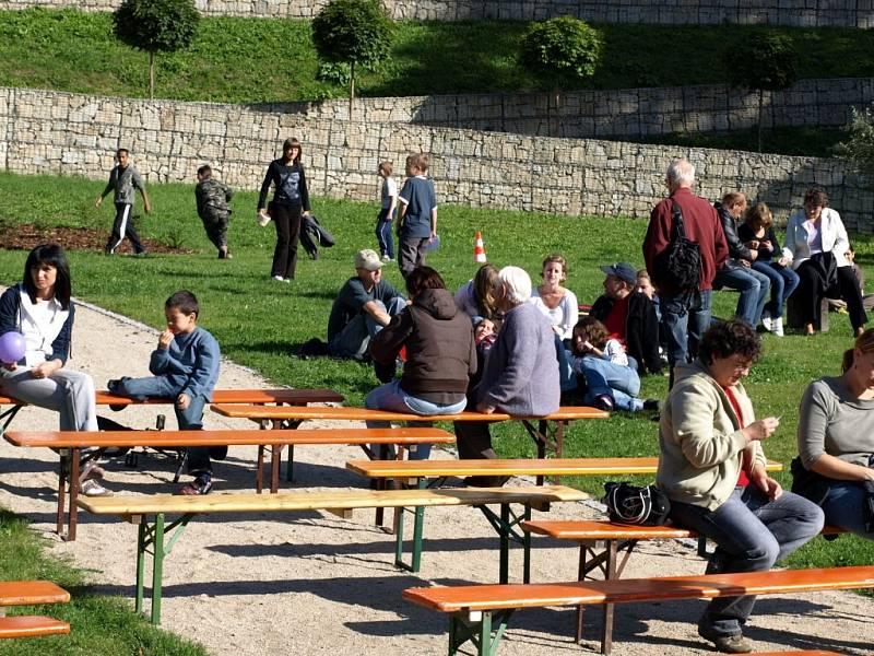 Akce Život je víc v areálu chebské Krajinky