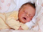 KLAUDIE ONDIČOVÁ se poprvé rozkřičela v pondělí 28. března v 7.17 hodin. Na svět přišla s váhou 3 300 gramů a mírou 51 centimetrů. Maminka Helča a tatínek Míra se těší z malé Klaudinky doma v Lubech