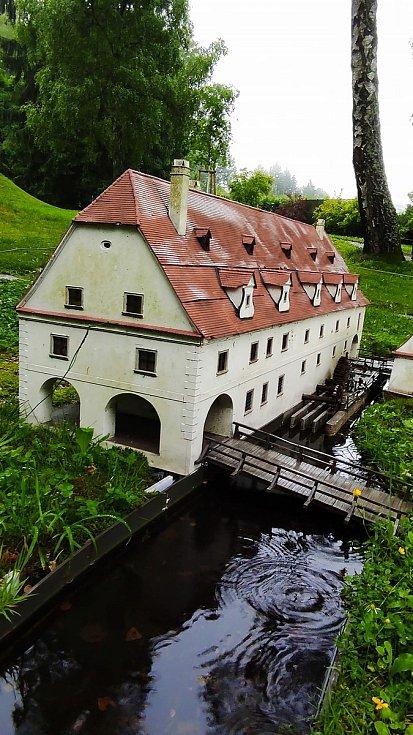 Z parku miniatur. Foto: Drahomíra Repíková