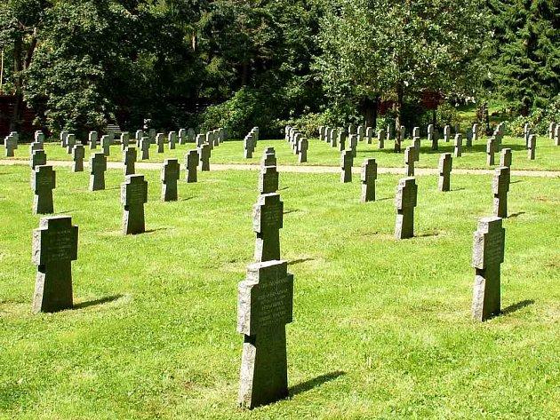 Vojenský hřbitov v Mariánských Lázních