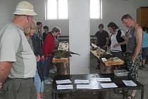 Odmykání lesa na hoře Dyleň a výstva hub přilákaly desítky výletníků.