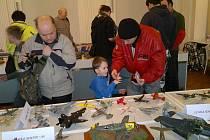 NA 'SVÉ' si přišli jak malí, tak dospělí návštěvníci výstavy. K vidění totiž bylo přes 170 modelů všech velikostí.