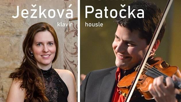 Roman Patočka a Silvie Ježková zahrají v klášteře.