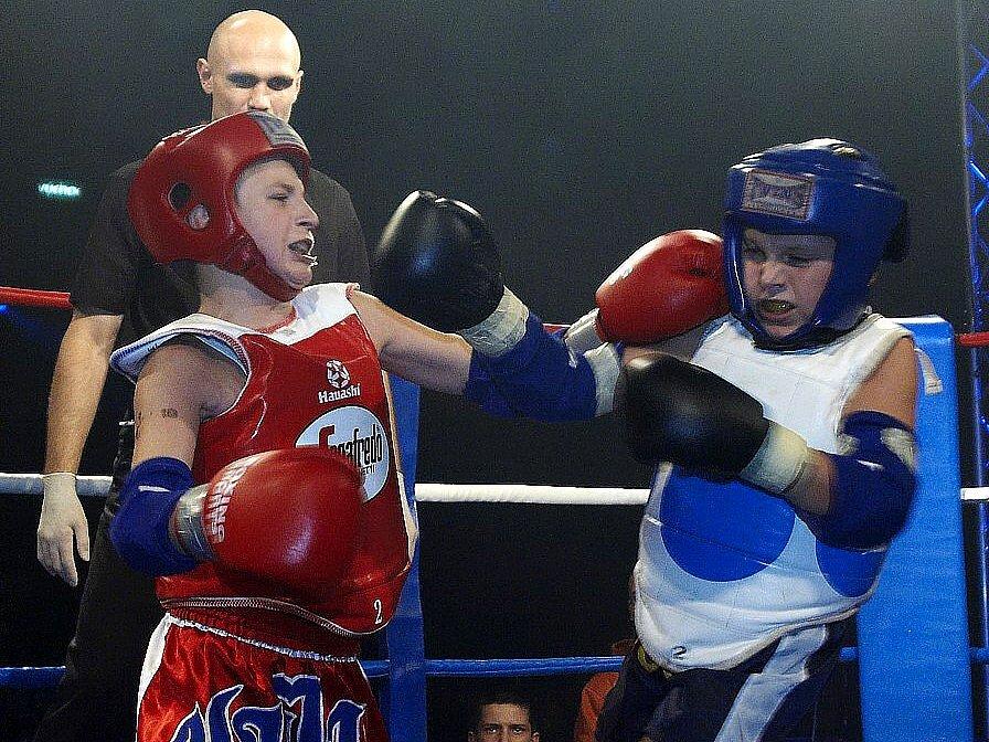 Galavečer thajského boxu v Mariánských Lázních - Novotný - Bradl