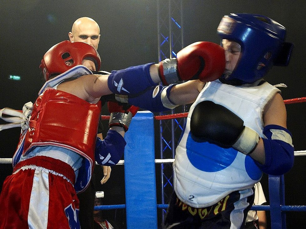 Galavečer thajského boxu v Mariánských Lázních -  mládežnický souboj