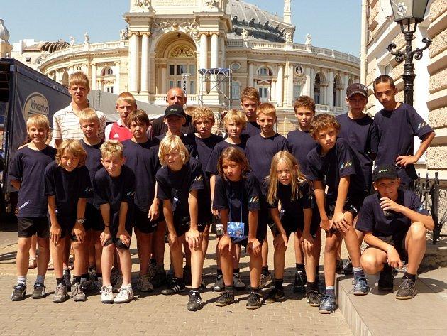 TÝM EVROPA česko – německé fotbalové školy na výpravě k Černému moři.