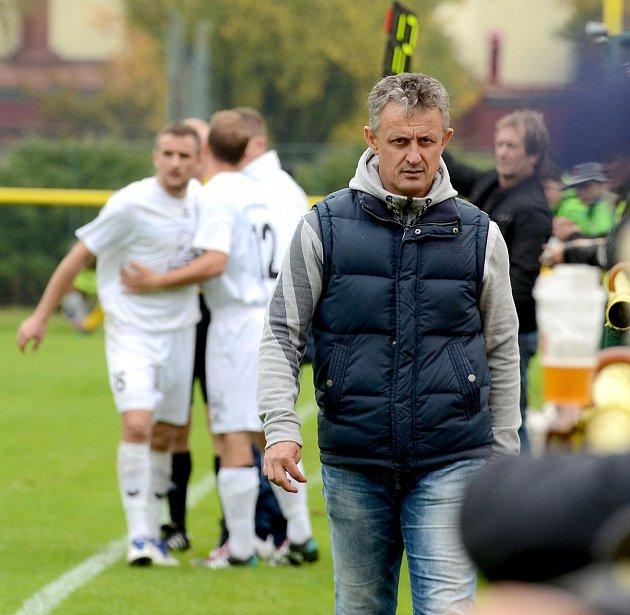 Trenér Mariánských Lázní Stanislav Purkart byl po utkání v Soběslavi spokojen, jeho tým zvítězil 3:1.