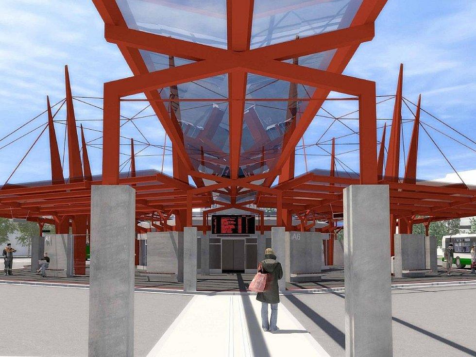 Autobusový terminál.