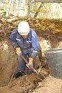 Na vyhaslé Komorní hůrce začaly první důlní práce.